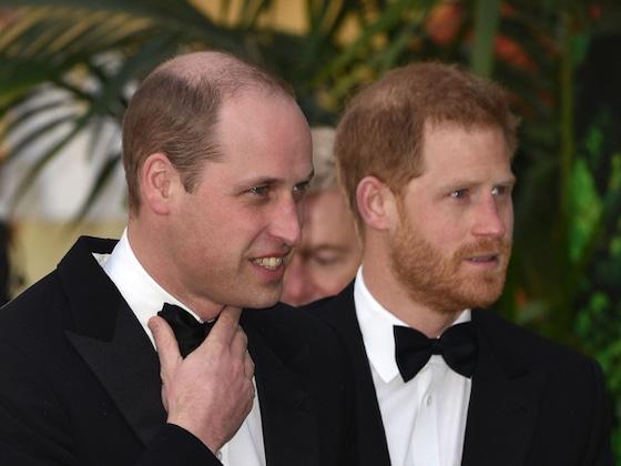 El incómodo encuentro entre los príncipes William y Harry
