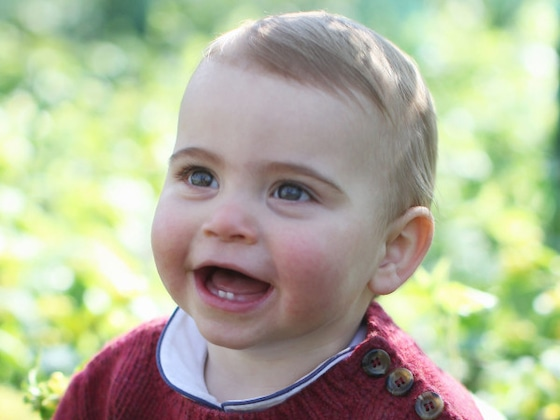 Prince Louis Shows His Teeth in Adorable 1st Birthday Portraits