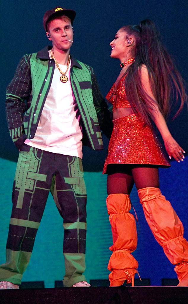 Justin Bieber, Ariana Grande, 2019 Coachella