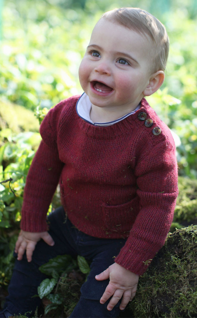 Prince Louis, 1 Year Portrait