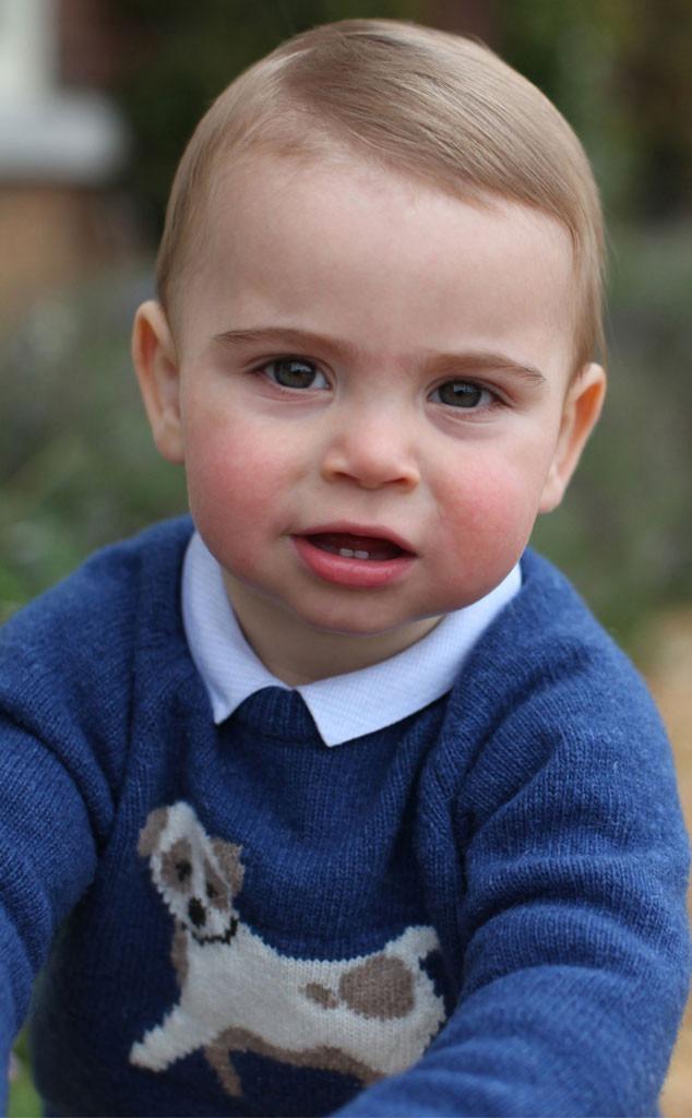 Prince Louis, 1 Year Portrait