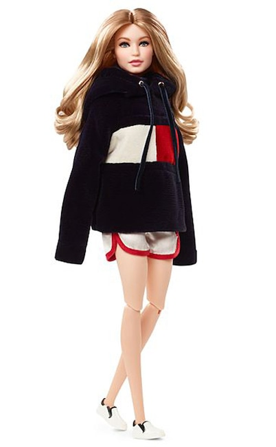 Gigi Hadid, Tommy Hilfiger, Barbie