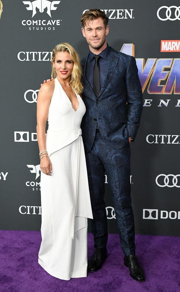 Elsa Pataky & Chris Hemsworth -  Date night done right!