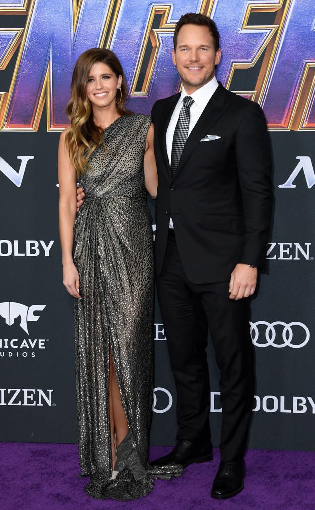 Chris Pratt, Katherine Schwarzenegger, Avengers: Endgame Premiere