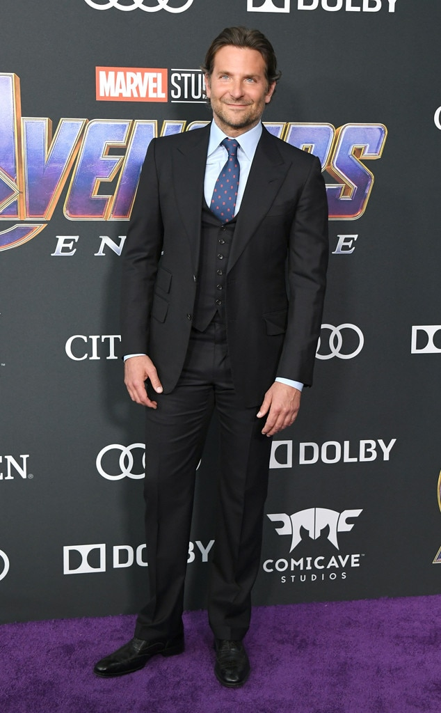 Bradley Cooper -  The voice of Rocket Racoon flies solo at the  Avengers: Endgame  premiere.