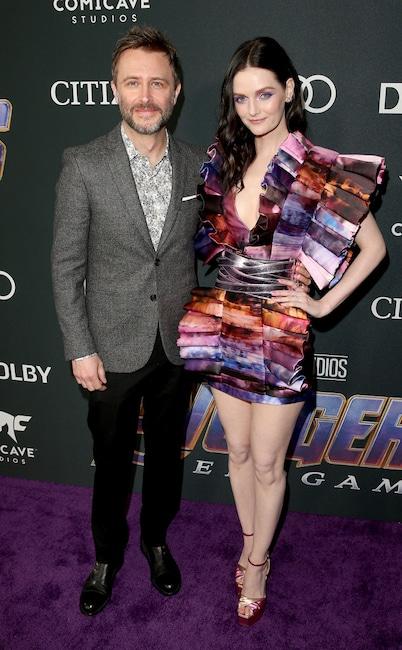 Lydia Hearst, Chris Hardwick, Avengers: Endgame Premiere