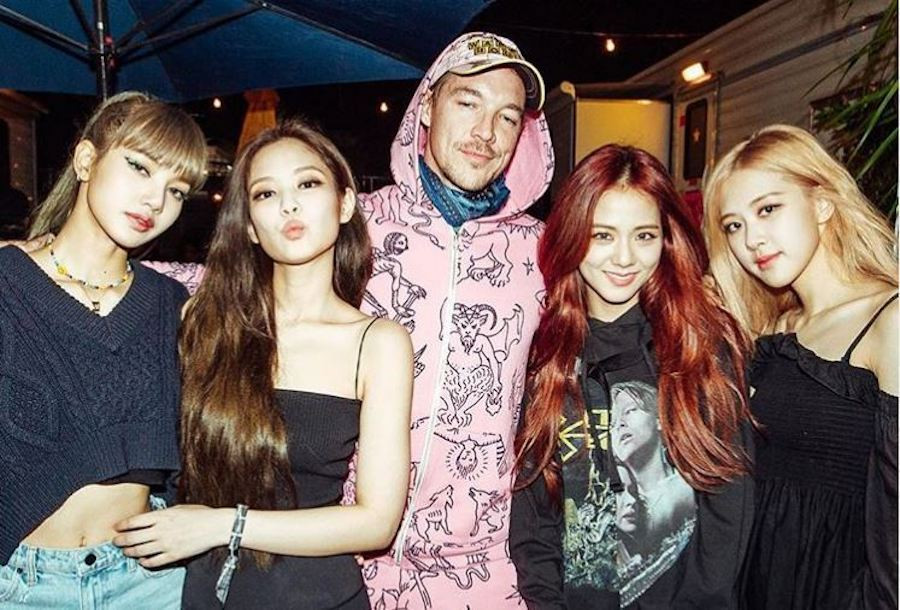 Image result for black pink with celeb