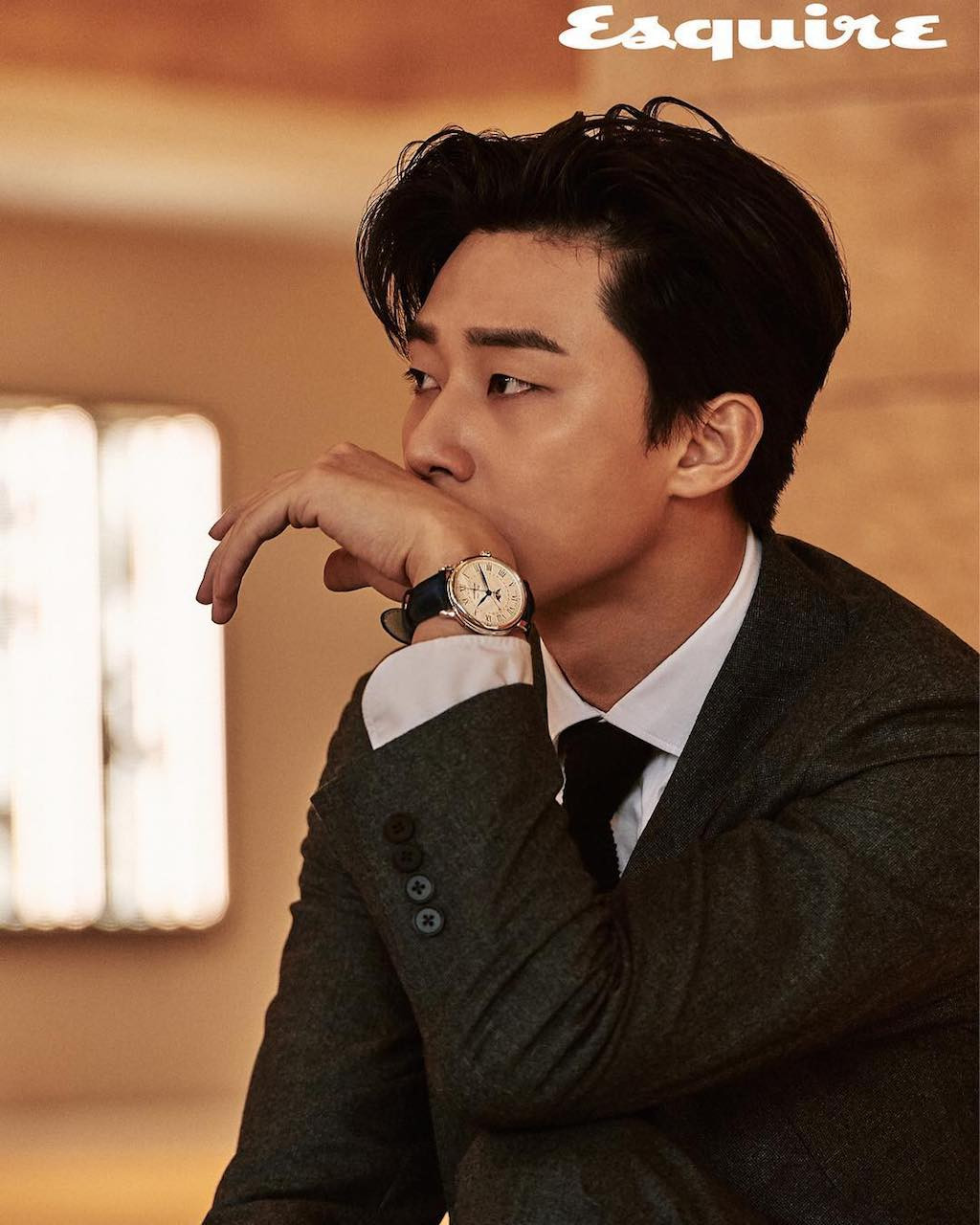 Korean Actor Park Seo-Joon Reveals His Plans for Life ...