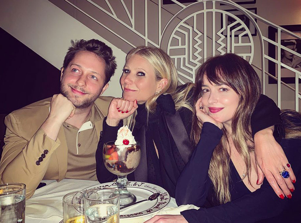 Derek Blasberg, Gwyneth Paltrow, Dakota Johnson