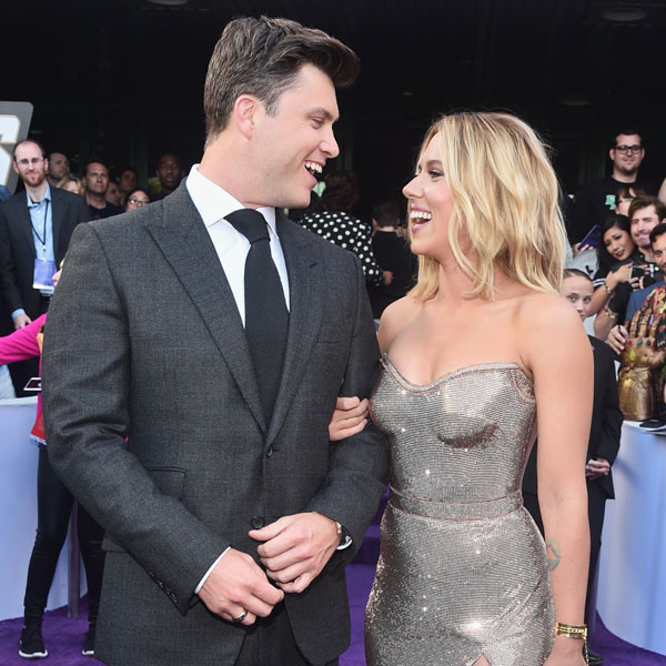 Scarlett Johansson's First Memory of Colin Jost Will Make You Laugh Out Loud