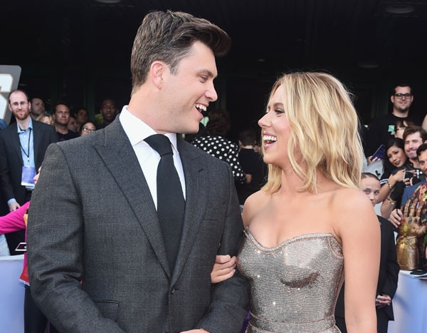 Scarlett Johansson is engaged to Colin Joss.