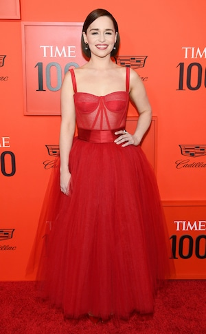 Emilia Clarke, Time 100 Gala 2019
