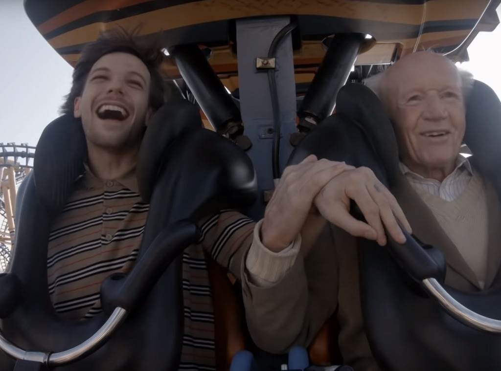 Watching Louis Tomlinson Fulfill 83-Year-Old Man's Bucket List Will Leave You in Tears