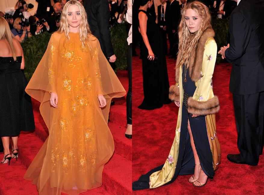 Ashley Olsen, Mary-Kate Olsen, PUNK: Chaos to Couture, Met Gala 2013
