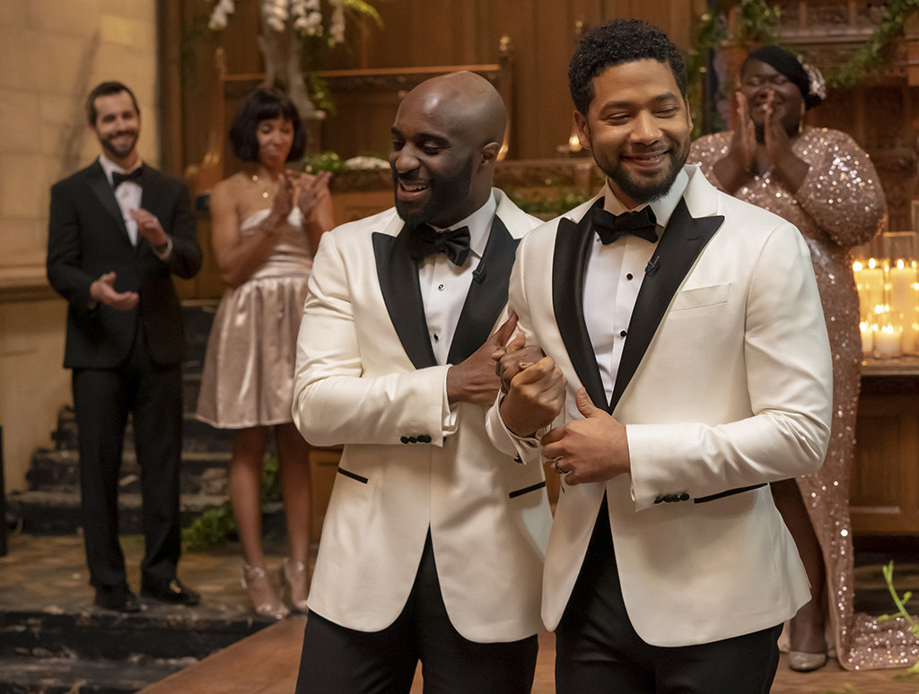 Jussie Smollett Takes Part in TV's First Gay, Black Wedding in His Last Empire Episode of the Season
