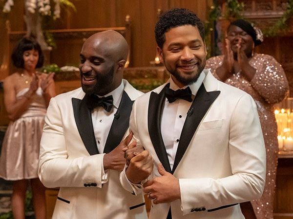 Jussie Smollett Takes Part in TV's First Gay, Black Wedding in His Last <i>Empire</i> Episode of the Season
