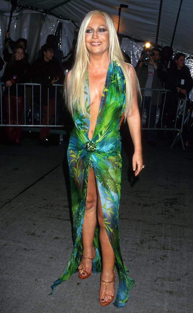 Donatella Versace, 1999 Met Gala