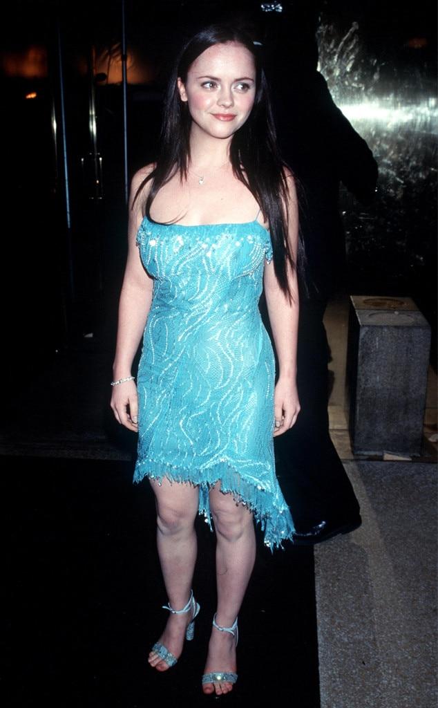 Christina Ricci -  The Addams Family star channels Elsa.