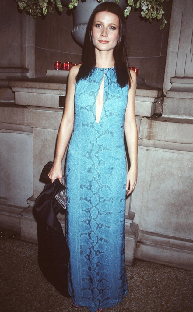 Gwyneth Paltrow -  The Oscar winner was a brunette!