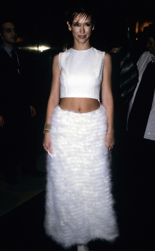 Jennifer Love Hewitt -  The '90s icon showcases a sexy angelic look.