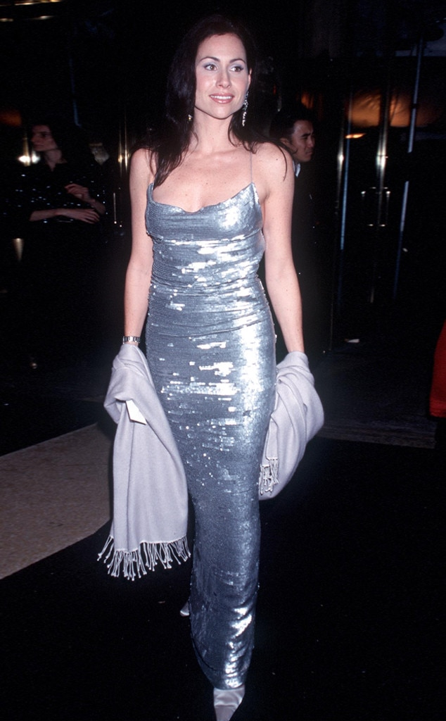 Minnie Driver -  The actress is all smiles in sparkling silver.
