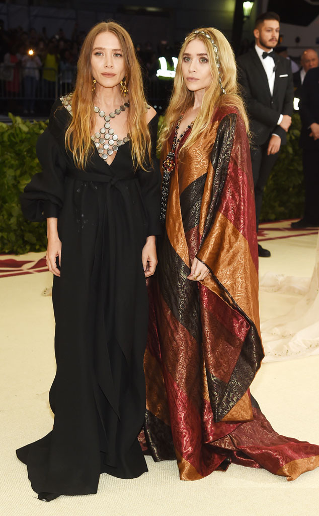 Mary-Kate Olsen, Ashley Olsen, Met Gala 2018
