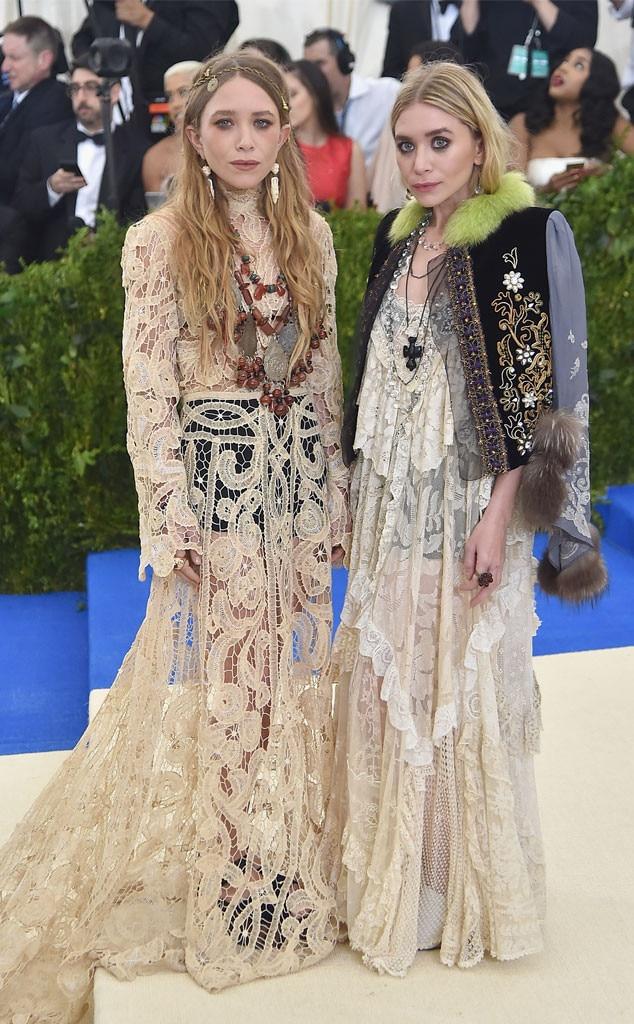 Mary-Kate Olsen, Ashley Olsen, Rei Kawakubo/Comme des Garcons: Art Of The In-Between, Met Gala 2017