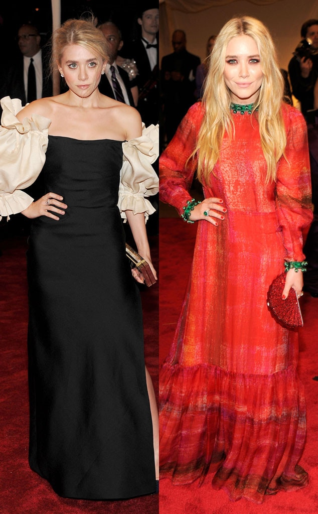 Ashley Olsen, Mary-Kate Olsen, Alexander McQueen: Savage Beauty, Met Gala 2011