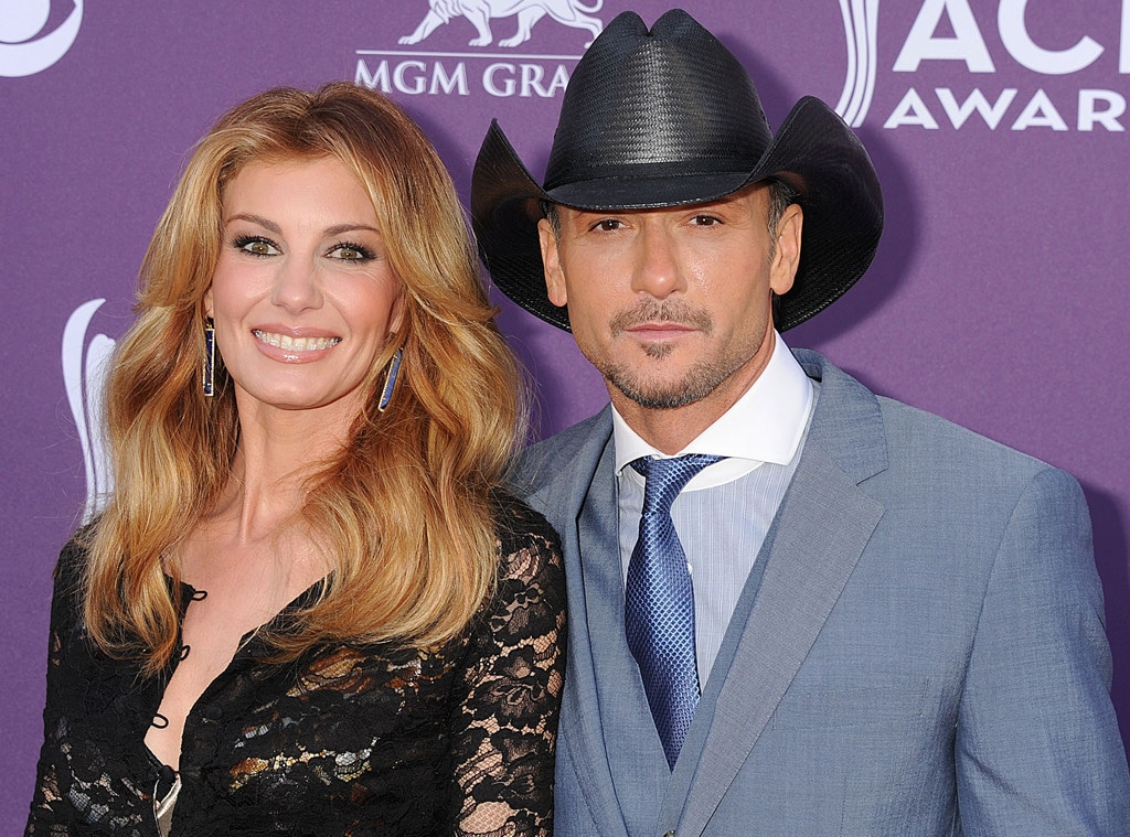 Tim McGraw & Faith Hill on the Red Carpet