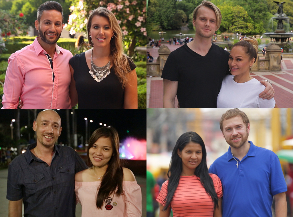 90 Day Fiancé: Before the 90 Days Couples Status Check: Who's Still