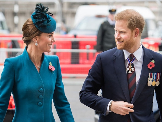 Prince Harry Makes a Surprise Appearance as Royal Baby Watch Continues