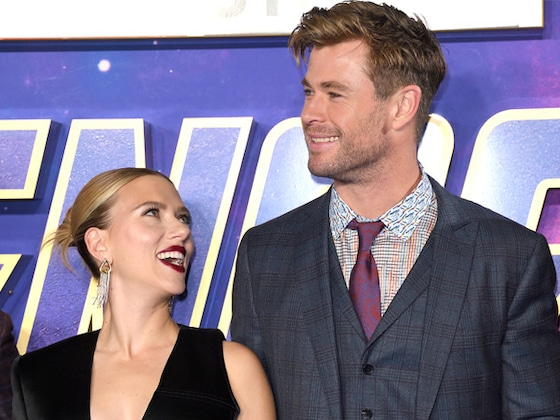 We Can't Stop Watching Chris Hemsworth and Scarlett Johansson Roast Each Other