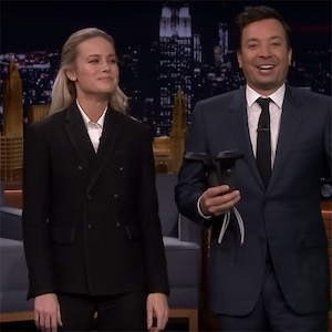 Brie Larson, Jimmy Fallon, The Tonight Show Starring Jimmy Fallon