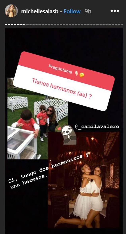 Michelle Salas, Miguel, Daniel, Camila