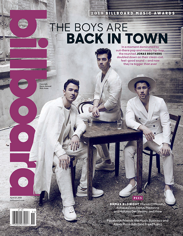 Jonas Brothers, Billboard, April 27, 2019
