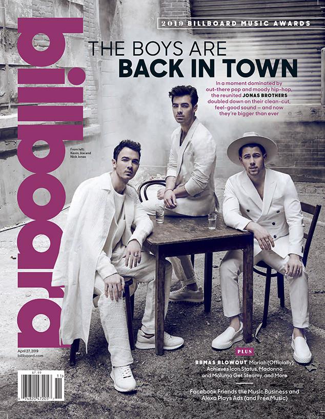Jonas Brothers, Billboard, April 27, 2019