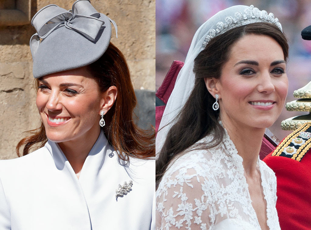 Kate Middleton, Earrings