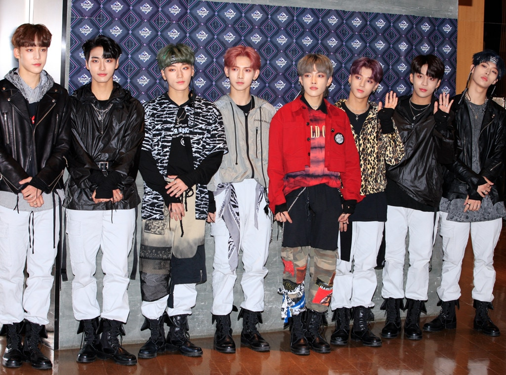 "ATEEZ -  This eight-member guy group, comprised of  Hongjoong, Seonghwa, Yunho, Yeosang, San, Mingi, Wooyoung , and  Jongho , only released their debut album in October 2018 after a YouTube series chronicled their training in Los Angeles. While their name sounds like a reference to a decade no member was alive during, it actually stands for ""A TEEnager Z,"" which is better than the original moniker of KQ Fellaz, named after their label KQ Entertainment."