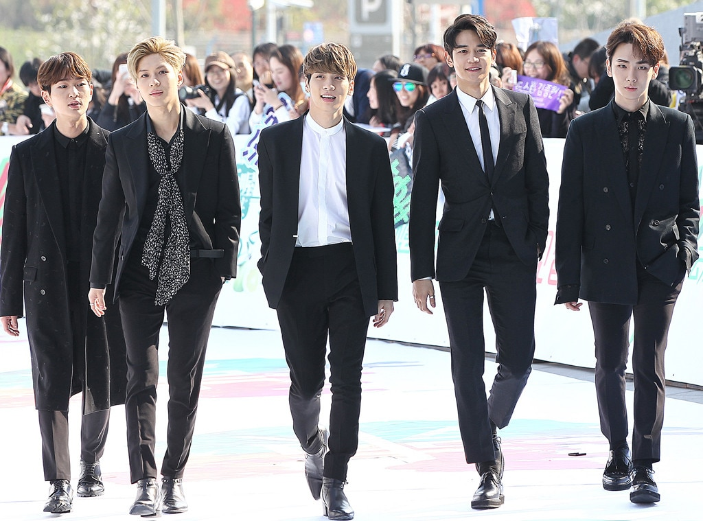 SHINee -  More K-pop royalty here, this quintet-turned-quartet has been dubbed the Princes of K-pop for their impact their music has made in their native country. Debuting in 2008 with a contemporary R&B sound, they've been known to experiments with genres including funk rock, hip hop and EDM.