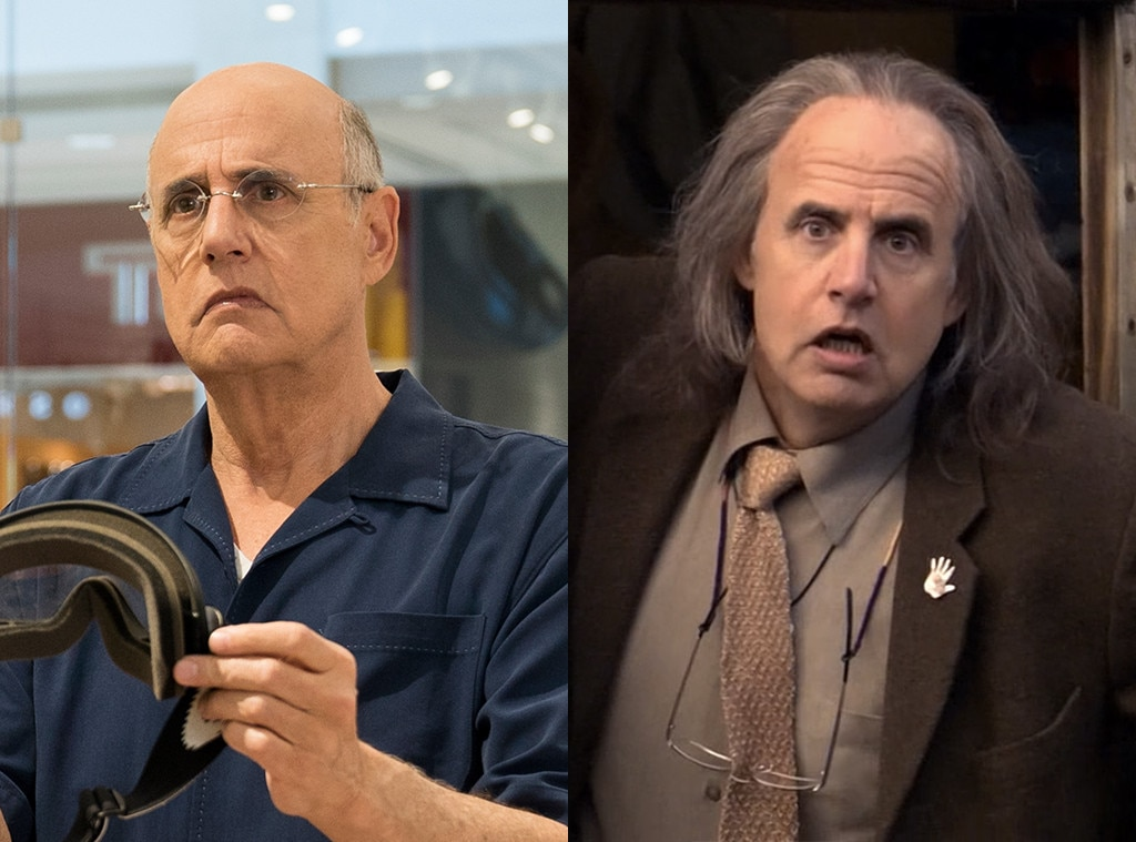 Jeffrey Tambor on  Arrested Development  -  Tambor played identical twin brothers George and Oscar on the sitcom. While George Sr was in prison, Oscar moved in on his wife Lucille...