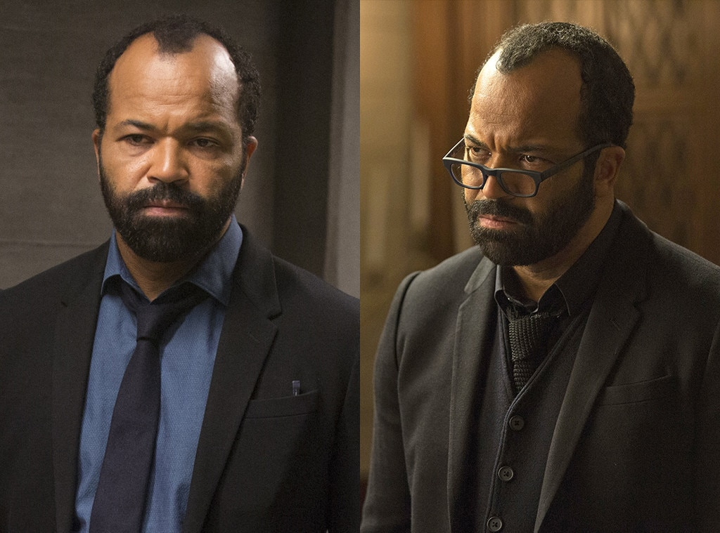 Jeffrey Wright on  Westworld  -  After spending episode after episode telling us all about park creator Arnold, the HBO drama revealed that Arnold was actually the man Bernard the robot was based on, and both are played by Jeffrey Wright, and no we can't explain it any further.