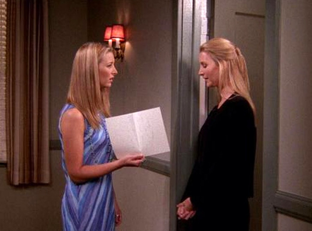 Lisa Kudrow on  Friends  -  Phoebe Buffay's twin sister Ursula was just about the complete opposite of Phoebe, even if Phoebe did fall in love with a couple of her boyfriends/stalkers.