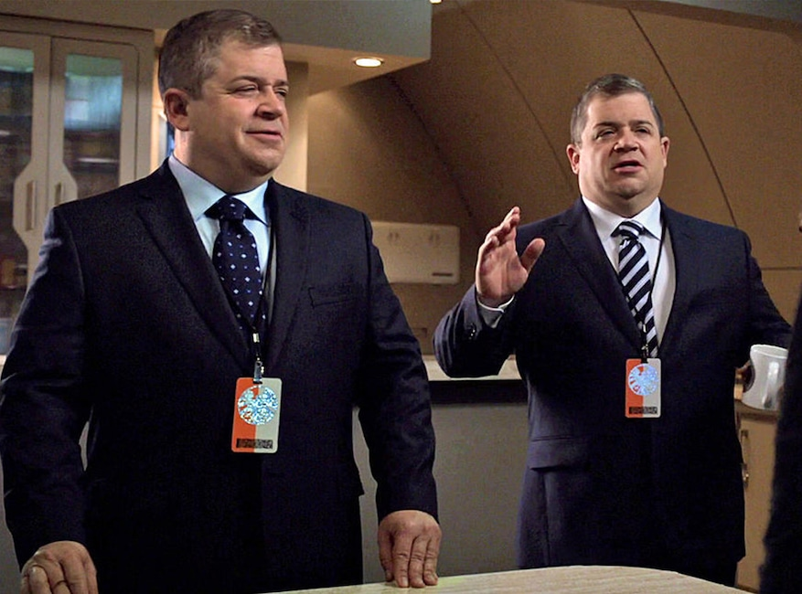 Patton Oswalt, Agents of Shield, TV Double Duty