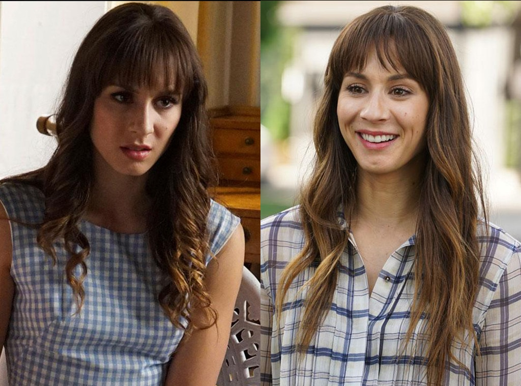 Troian Bellisario on  Pretty Little Liars  -  For the final season of the Freeform drama, sometimes, Spencer was actually her evil twin sister Alex. Eagle eyed fans could pretty easily tell when Spencer was not Spencer, but that's a testament to Bellisario's acting.