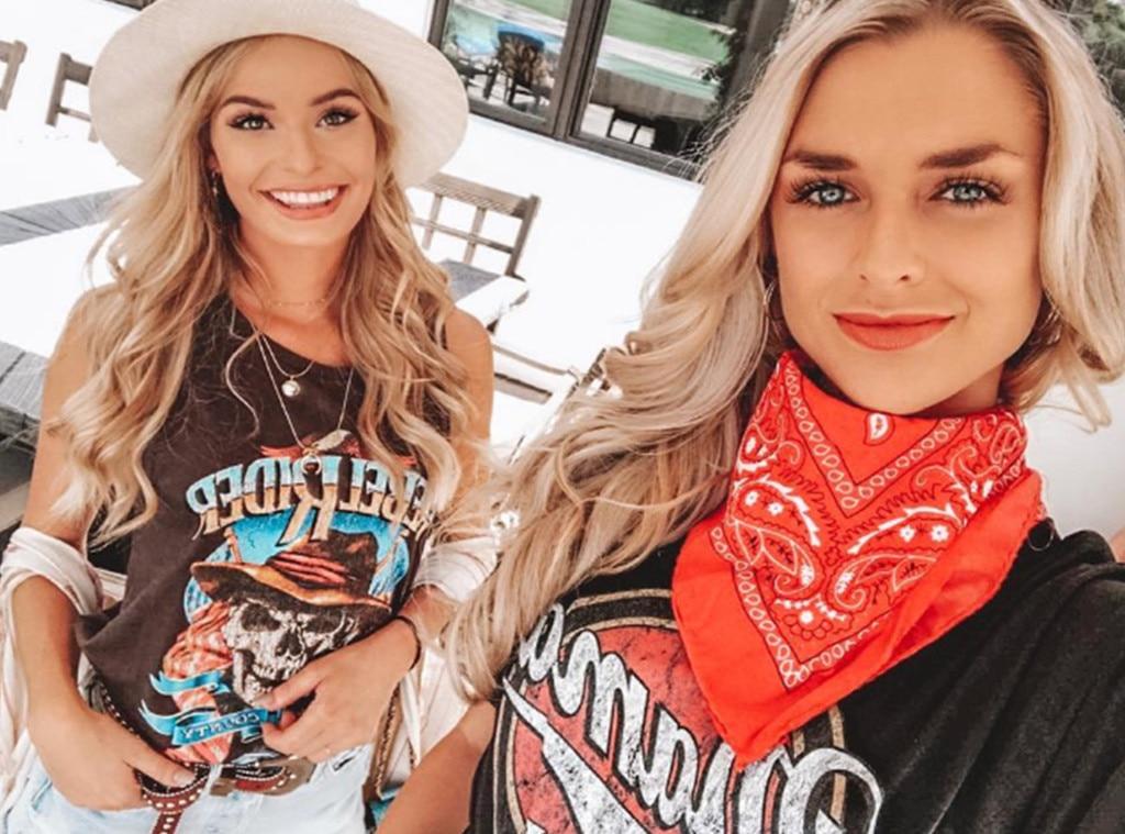"Kelsey Owens & Julette Porter -  ""K&J take on Stagecoach! Any predictions?"" the  Siesta Key  stars asked on  Instagram ."