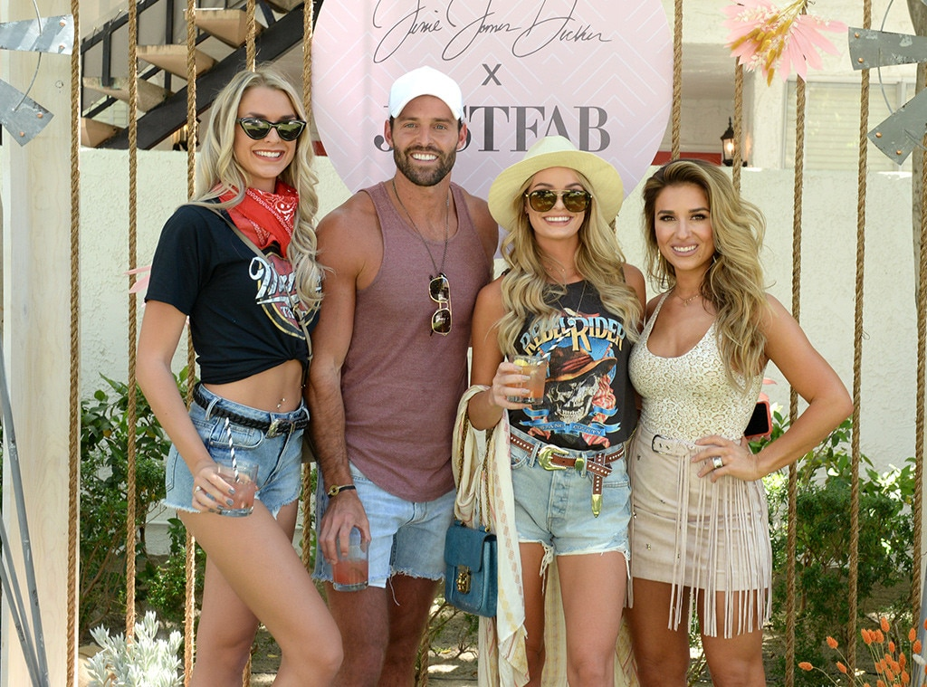 Kelsey Owens, Robby Hayes, Juliette Porter & Jessie James Decker -  It's beginning to look a lot like a country music festival in Indio, Calif.