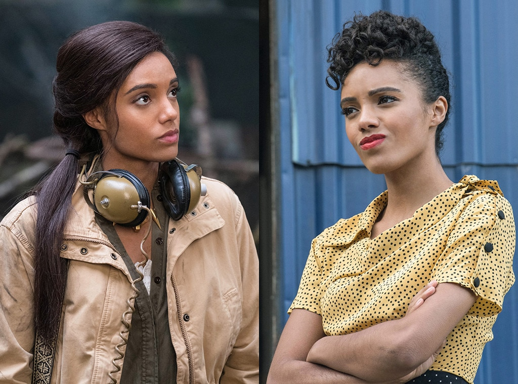 Maisie Richardson Sellers on  Legends of Tomorrow  -  After Amaya chose to stay behind in her own village and time period on the time-traveling superhero drama, Sellers didn't go anywhere. A gender-fluid shapeshifter chose Amaya's form to manipulate the Legends and got stuck in that body, leaving us with the much cheekier Charlie in her place.