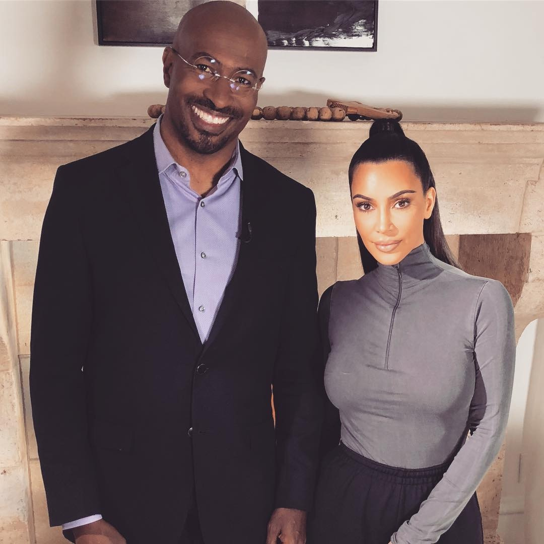 Van Jones, Kim Kardashian, June 2018