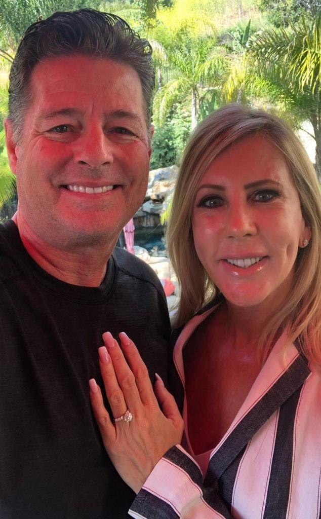 Vicki Gunvalson, Steve Lodge, Engagement