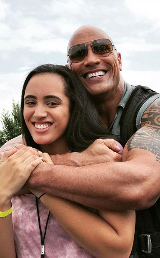 Dwayne Johnson S Daughter Turns 1 See Their Cutest Family